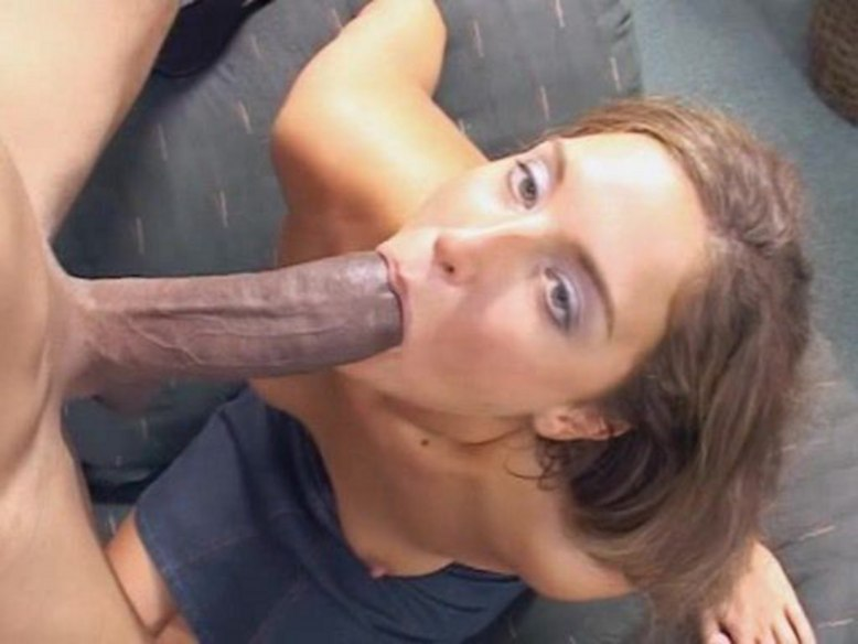 Thick Cock sexy blonde babe gets pounded jizzed huge black cock.