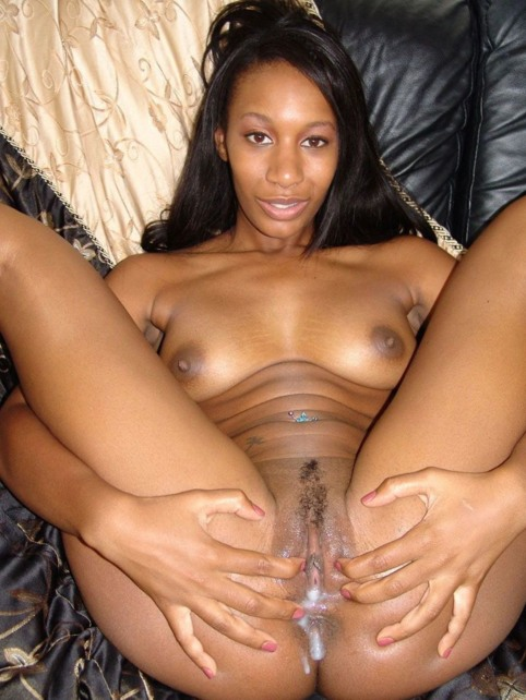 Sexy nude ebony female models