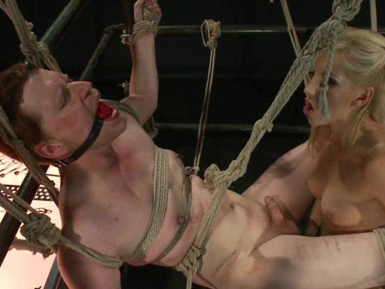 femdom porn 166 1 Hard cock ball torture divine babe isis love. Lesbian babes hot bondage ...
