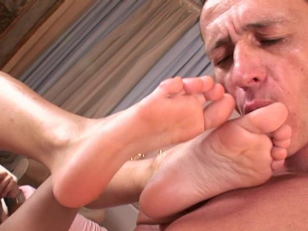 Feet sex slave