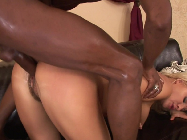 Black Dick On White Chick Busty Honey Getting Ripped By A Monster