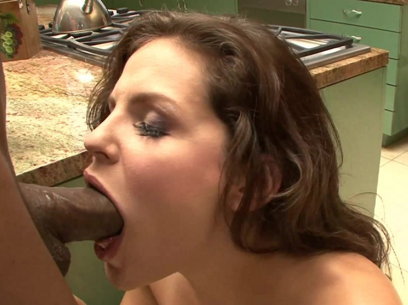 Interracial black man white sex woman